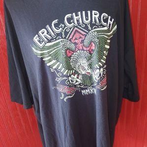 Eric Church Holdin' My Own Tour Shirt 4X